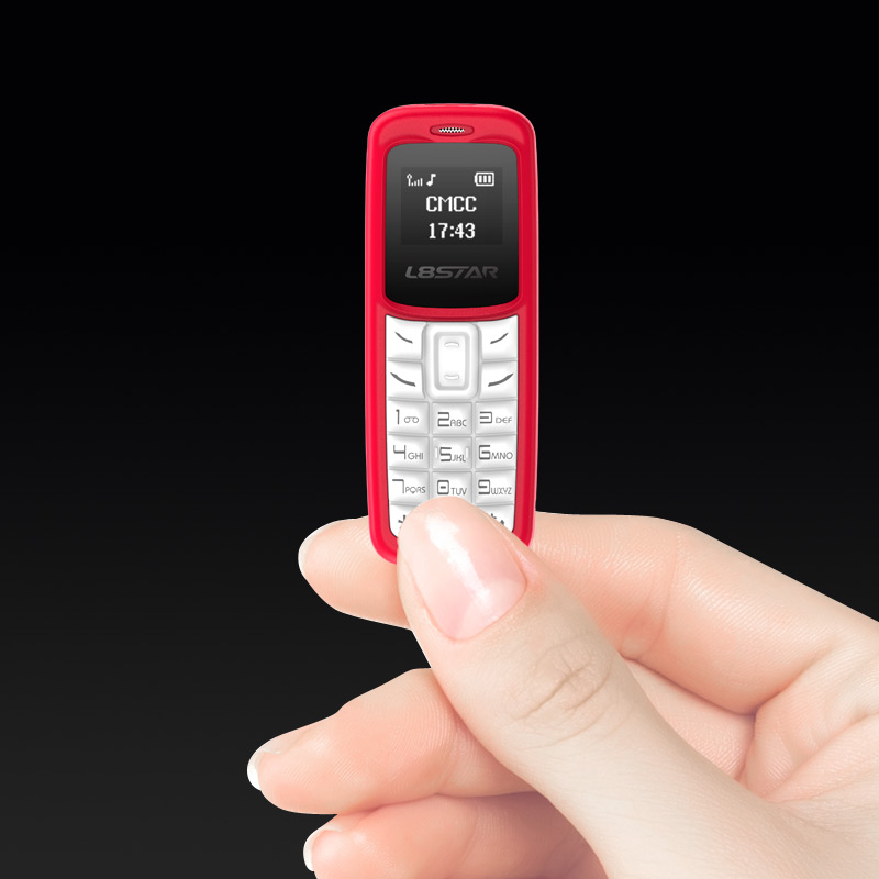 L8Star BM30 0.66 inch OLED 220mAh Bluetooth Dialer Voice Changer MP3 Music Player Mini Card Phone