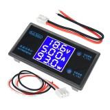 DC 12V 5A 250W LCD Display Digital Voltmeter Ammeter Wattmeter Voltage Current Power Meter