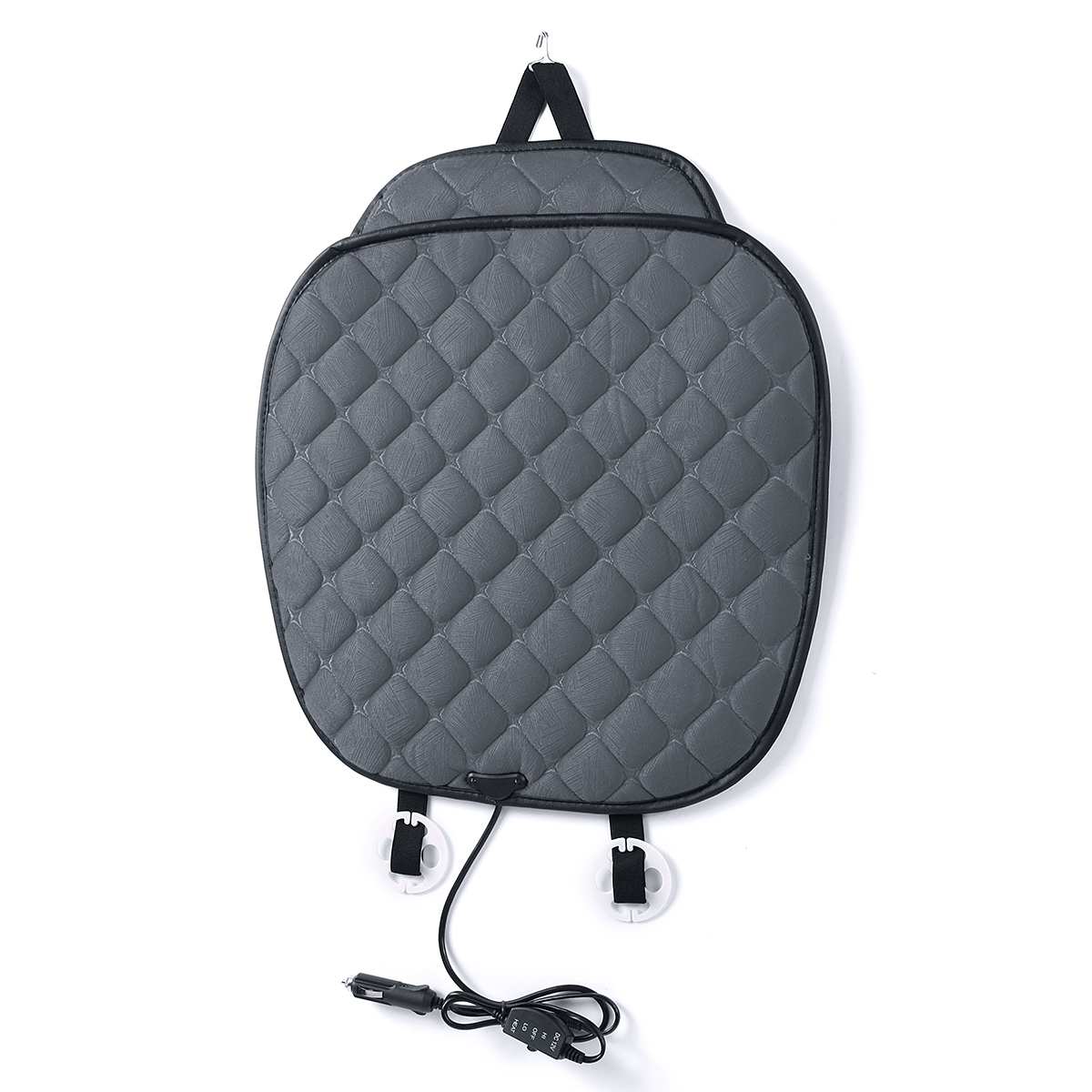 12V Polyester Fiber Car Heated Seat Cushion Seat Warmer Winter Household Cover Electric Heating Mat