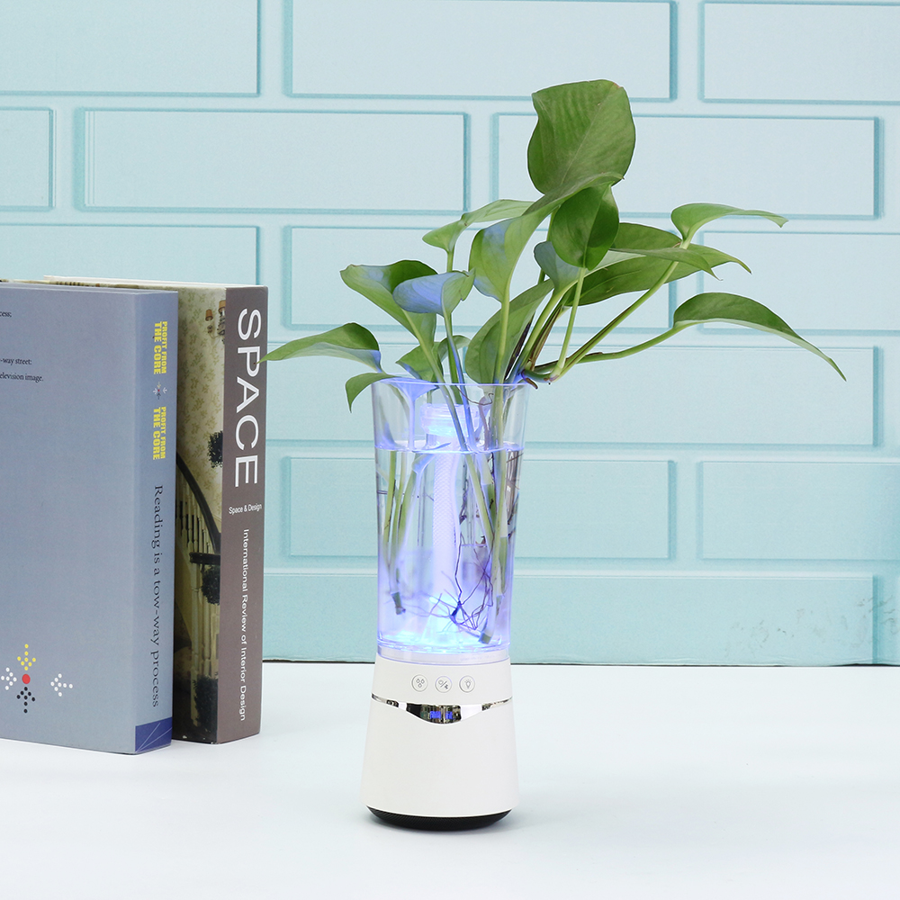 USB Air Humidifier Ultrasonic Mini Aroma Diffuser Air Purifier LED Lights Aroma Humidifiers Vase