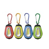 3W Mini COB Keychain Flashlight Camping Work Night Light Portable Magnetic Emergency Pocket Lamp