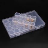 29 in 1 SMT Patch CHIP IC Component Box Disassembly Storage Box Screw Nail Parts Storage Box