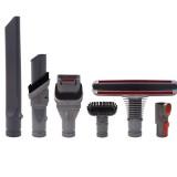6Pcs Vacuum Cleaner Brush Parts Adapter Accessories Kit for Dyson V6 V7 V8 V10