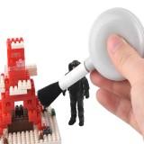 Gunda Model Dusting Cleaning Brush Military Building Model DIY Tool with Air Blowing