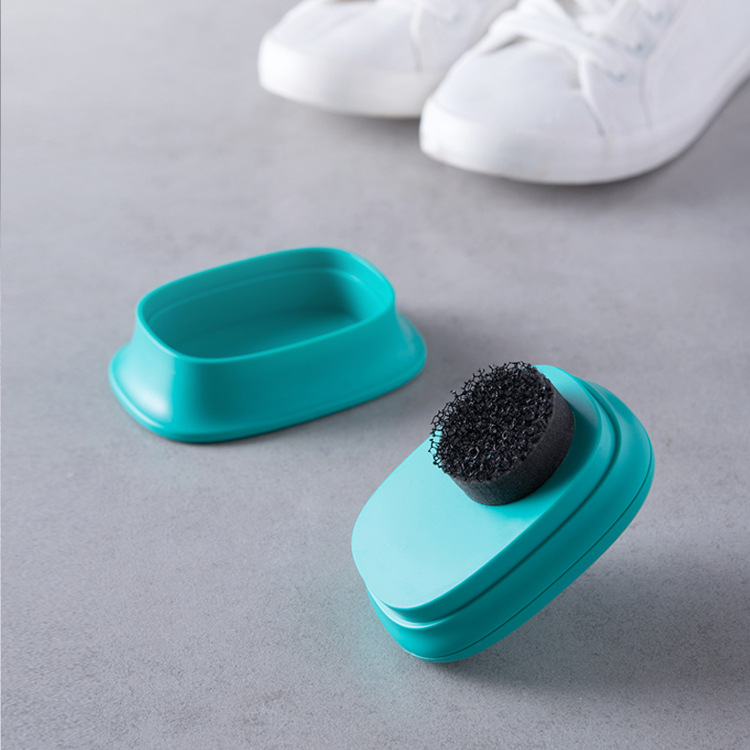 Home Portable Sponge White Shoes Canvas Leather Shoes Cleaning Brush