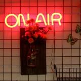 "16""x4"" On Air Neon Sign Light Bar Pub Club Wall Decor LED Tube Visual Artwork"
