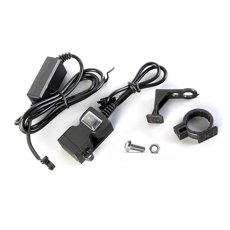 BIKIGHT Phone USB Charger 1A/2.1A Xiaomi Electric Scooter Motorcycle E-bike Bike Bicycle Cycling