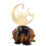 Cake Topper Muslim Islam Hajj Mubarak Cake Party Decor Eid Ramadan Mubarak  Cake Decorations