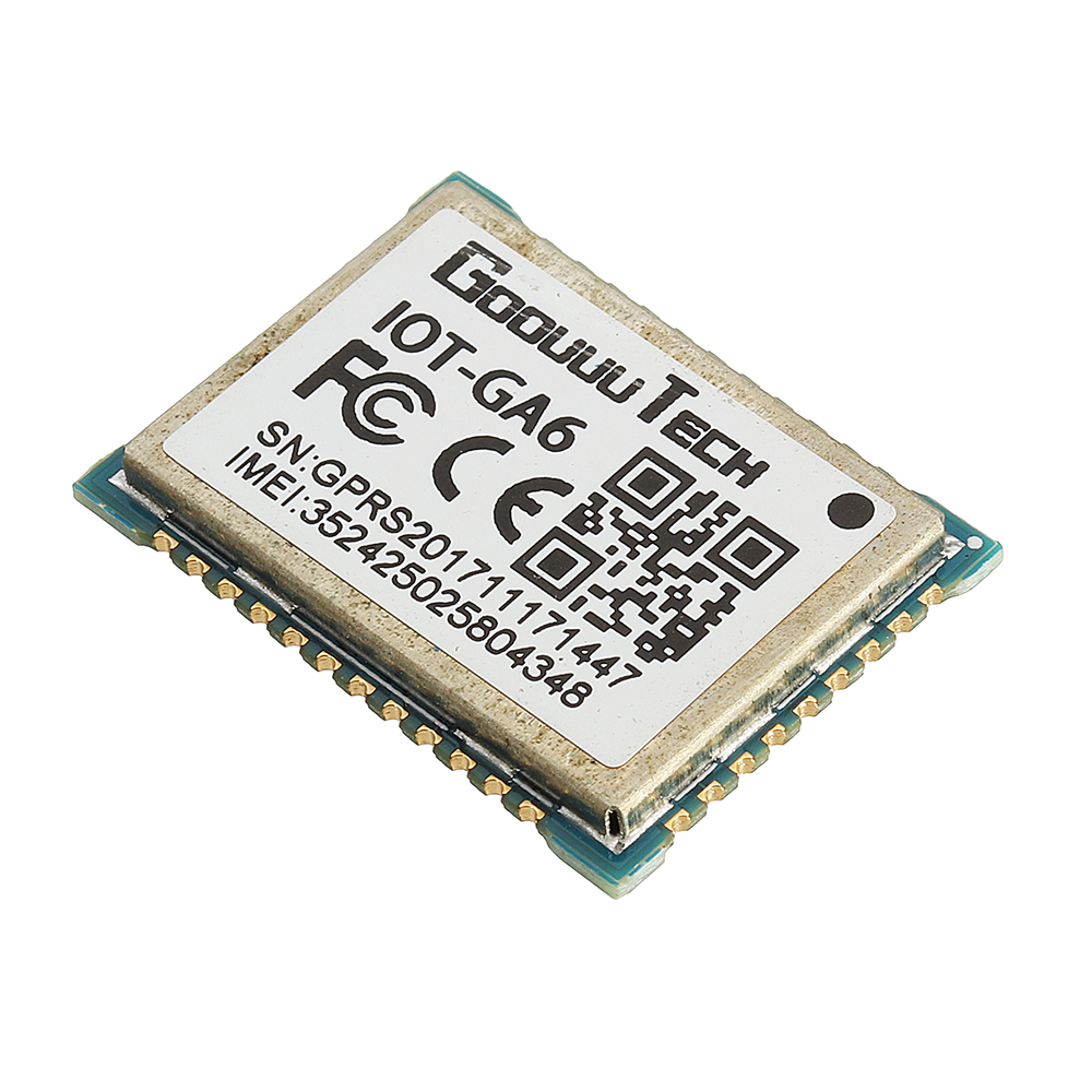 Goouuu-GA6-B Module GPRS GSM SMS Voice Development Board Wireless Data  Transmission A6