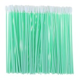 100pcs Foam Cleaning Swabs Industrial Dust-Free Cotton Swab Sponge Stick Dustproof Rods