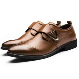 Big Size Hook&Loop Casual Business Oxfords Shoes