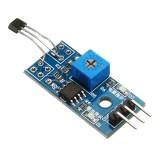 10pcs 5V/3.3V Speed Measurement Hall Sensor Module Hall Switch Motor Tachometer Module For DIY