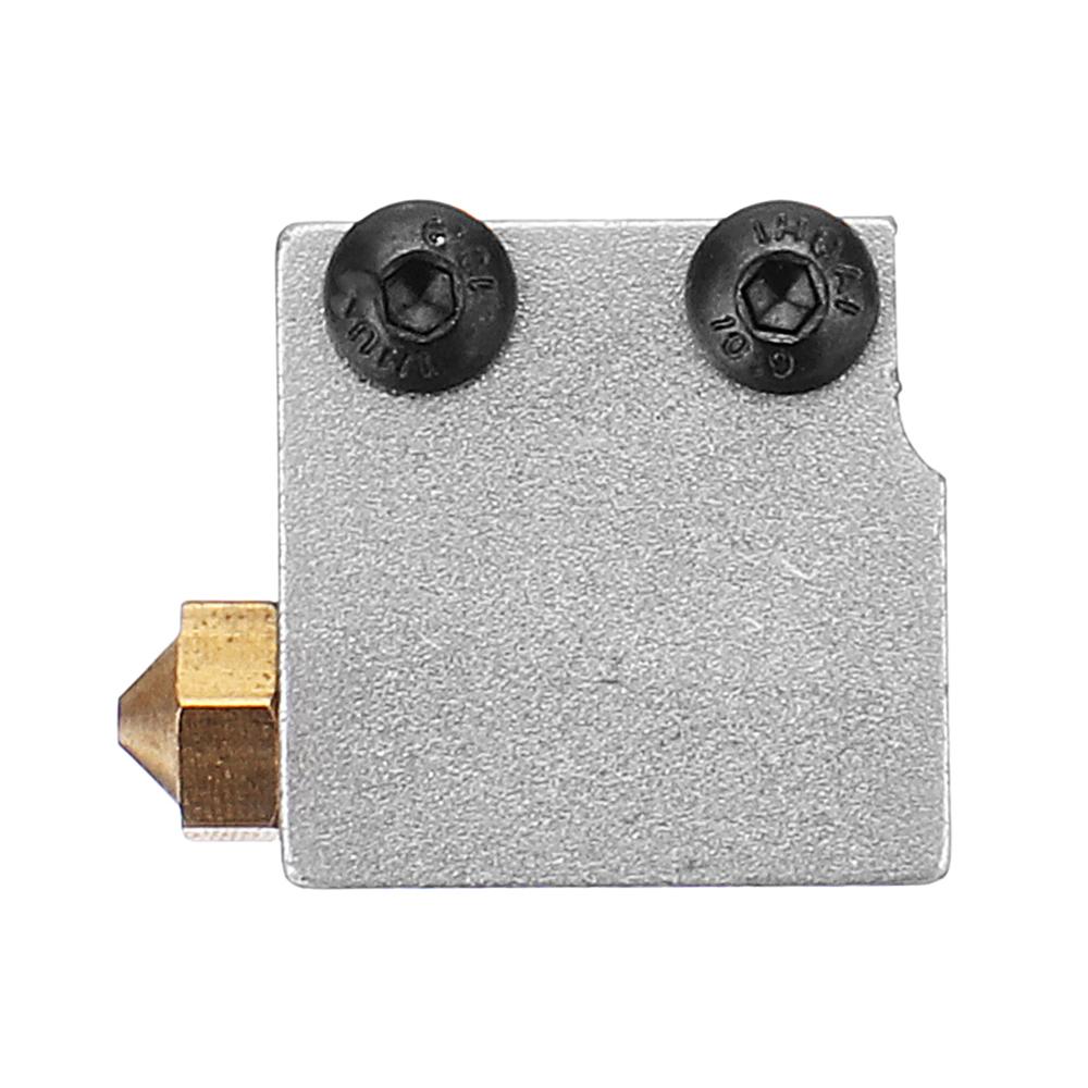 0.6//0.8//1.0//1.2mm 3D Printer Volcano Nozzle Heating Block Parts 1.75mm Filament