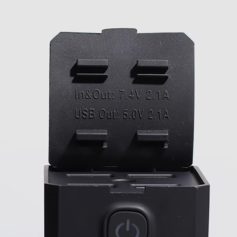 BIKIGHT P4 7200/8800/10400mAh Bike Bicycle Power Bank 2A Fast Charge Light Phone Power Supply