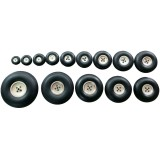 Upgraded Aluminum PU Wheels 1.5/38mm 1.75/45mm 2/50mm 2.25/57mm 2.5/63mm 2.75/70mm 3/76mm Inch