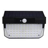 Solar Powered 78 LED PIR Motion Sensor Waterproof Wall Light Outdoor Garden Emergency Security Lamp
