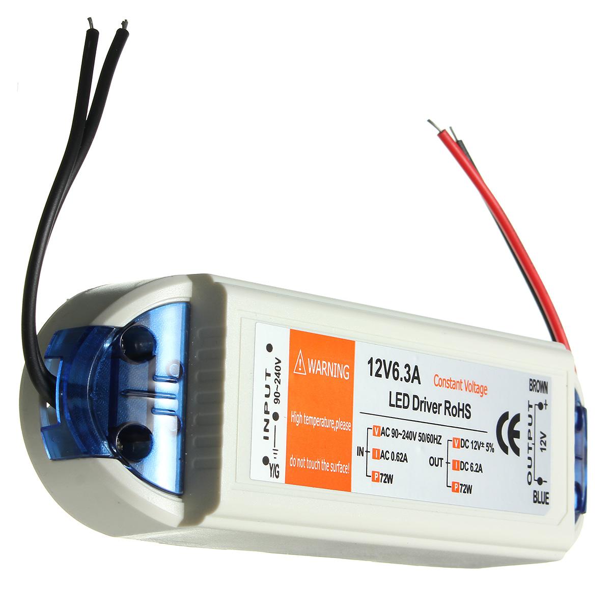 3W//7W//12W//18W//24W 1Pc Led Driver Adapter Transformer Switch Lighting Transf NP