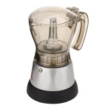 4 Cup Automatic Transparent Acrylic Coffee Maker Percolator Moka Pot Stovetop Espresso Pot Machine