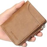 Baellerry Men Multifunctional Short Wallet Card Holder Clutches Bag