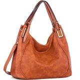 Brenice Women Fashion Handbag PU Leather Tote Bag Shoulder Crossbody Bag
