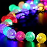 30 LED Solar Power Christmas Fairy String Light Party Outdoor Patio Decor Lamp