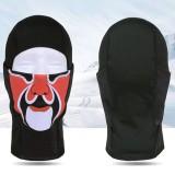 Men Women Outdoor Sports Windproof Flexible Black Mask Hat Cool Style Skull Print Headgear