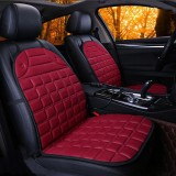12V Cotton Car Double Seat Heated Cushion Seat Warmer Winter Household Cover Electric Heating Mat