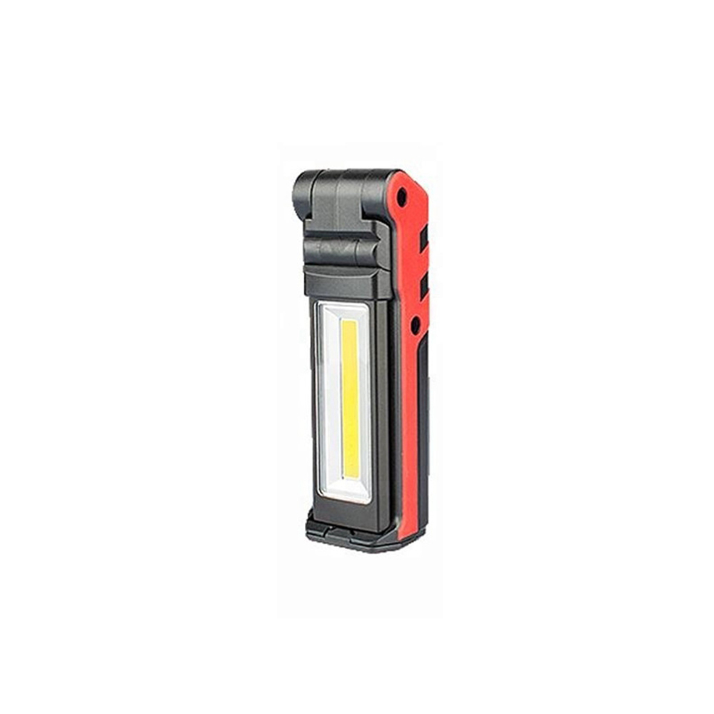 LUSTREON 5W+3W+3W USB Rechargeable Portable COB LED Work Camping Light Magnetic Dimming Flashlight