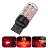 1Pcs T20 7440 3014 144LED Car Turn Signal Lights Red Stop Brake Lamp Bulb 4.2W DC12V