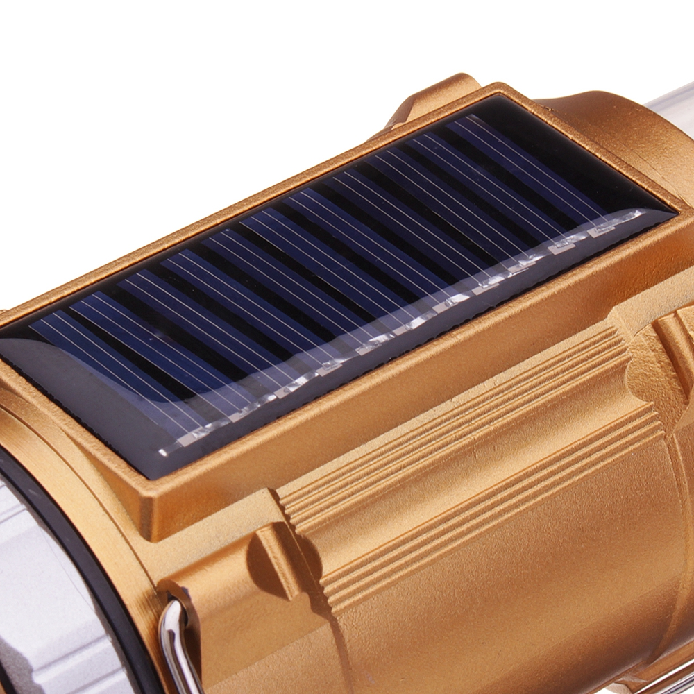 Portable Outdoor Solar 10 LED Camping Hiking Light Lantern USB Rechargeable Tent Lamp  Power Bank