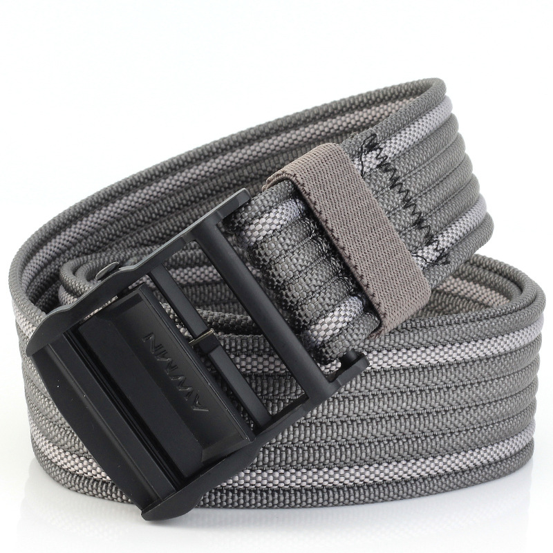 AWMN S02 120cm Belts for Men Women Camouflage Belt Military Tactical Belt Buckle Hanger Leisure Camp