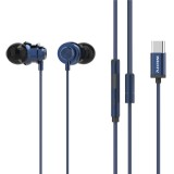 X56M Type-c Metal Wired Control In-ear Earphone Noise Cancelling Waterproof With HD Mic For Xiaomi