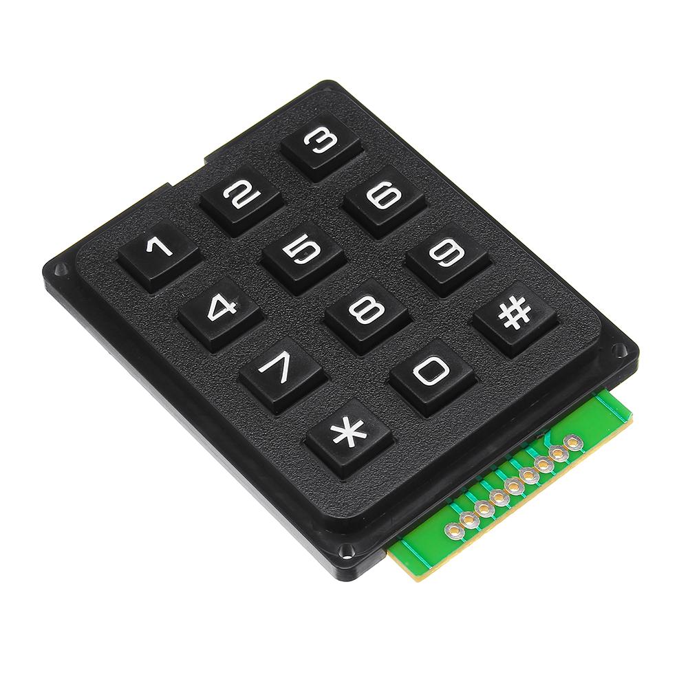 4 x 3 Matrix Array 12 Keys 4*3 Switch Keypad Keyboard Module for Arduino HGUK