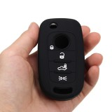 4 Buttons Silicone Remote Key Fob Cover Case For FIAT 500X Toro 2016 2017