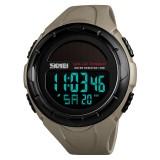 SKMEI 1405 Solar Power Digital Watch Stopwatch Luminous Display Alarm Calendar Outdoor Sport Watch