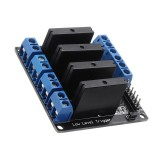 4 Channel DC 24V  Relay Module Solid State High and low Level Trigger For Arduino 240V2A