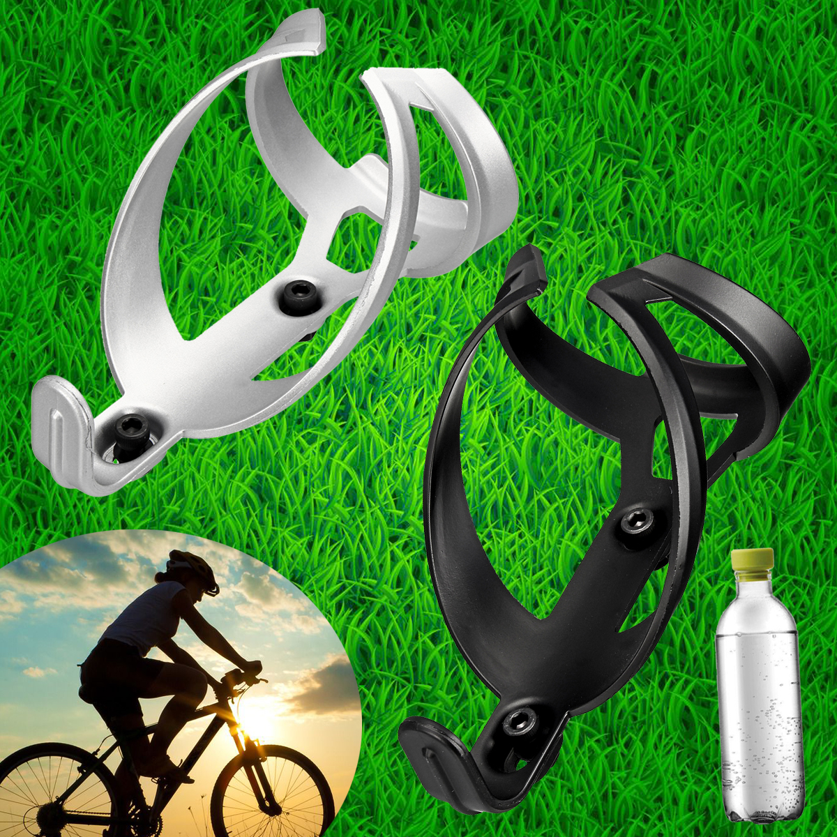 Nylon Fiber Drink Bottle Water Cage Rack Holder Bracket Bicycle Cycle Sport Bike