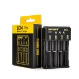 Basen BO4 Pro Smart Li-ion Battery Charger for 14500 18650 26650 21700 SC C Ni-MH Ni-CD Battery