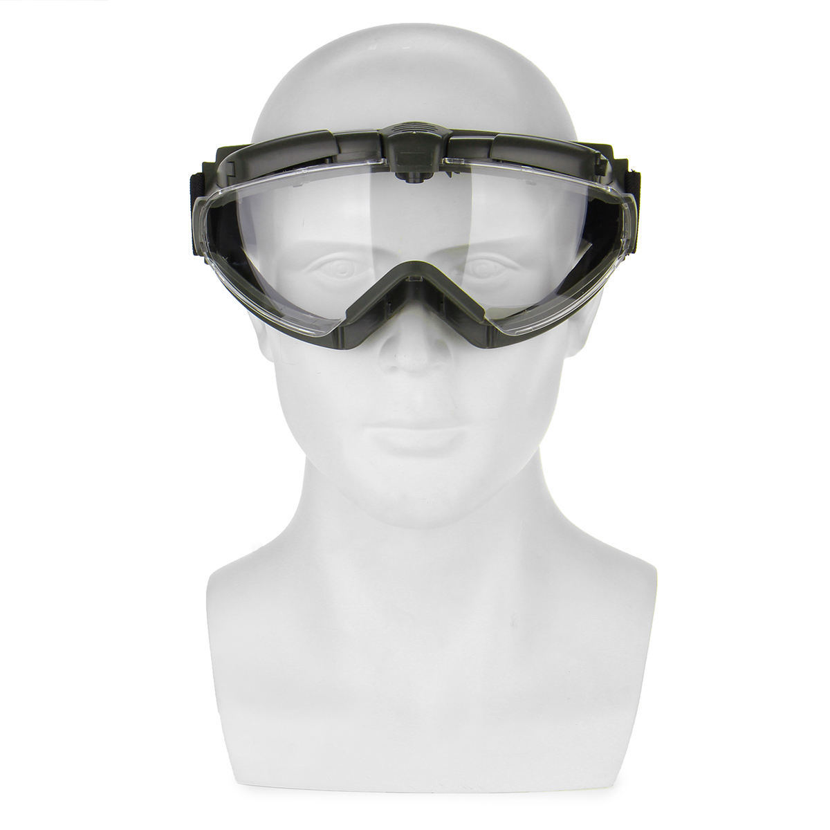 Tactical Military Anti-Fog UV Dust Airsoft Protective Glasses Goggles With Cloth Box