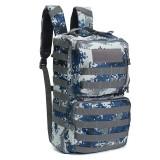 50L Outdoor Tactical Army Backpack Rucksack Waterproof Camping Hiking Travel Bag