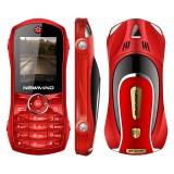 Newmind F1+ 2000mAh Car Model Phone Whatsapp FM Bluetooth MP3 Dual Sim Dual Standby Mini Card Phone