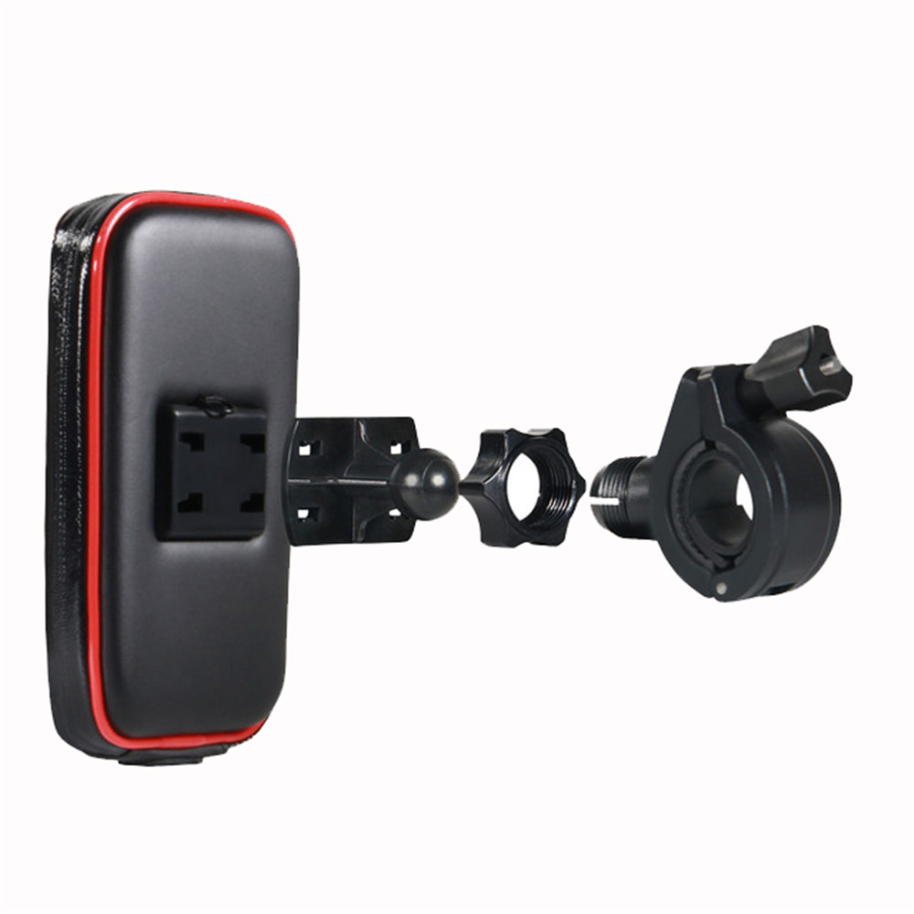 Motorcycle Bike Mount Bracket Stand Holder For Phone Waterproof Case Bag For Iphone 6/7 Samsung