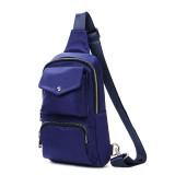 Women Nylon Waterproof Leisure Outdoor Chest Bag Crossbody Bag Shoulder Bag