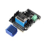 Lerdge Dual Extruder Module 2 in 1 Out/2 in2 Out Module With LV8729 For 3D Printer LERDGE-S Board