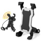 BIKIGHT Universal Mobile Phone Holder for Xiaomi Scooter Bike Bicycle Cycling Motorcycle with Horn