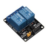 BESTEP 2 Channel 3V Relay Module Low Level Trigger Optocoupler Isolation For Auduino