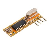 5pcs RXB12 315Mhz/433Mhz Superheterodyne Receiver Board Wireless Receiver Module High Sensitivity