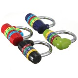4 Digit Resettable Combination Padlock Travel Luggage Bag Diary Suitcase Code Security Lock