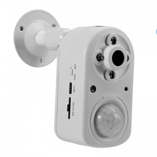 White 1080P HD Home Security Motion Detection Night Vision Surveillance Camera Hunting Camera
