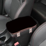 Plush Car Middle Arm Rest Console Seat Comfortable Cover Pad Cushion Pillow Mat Universal